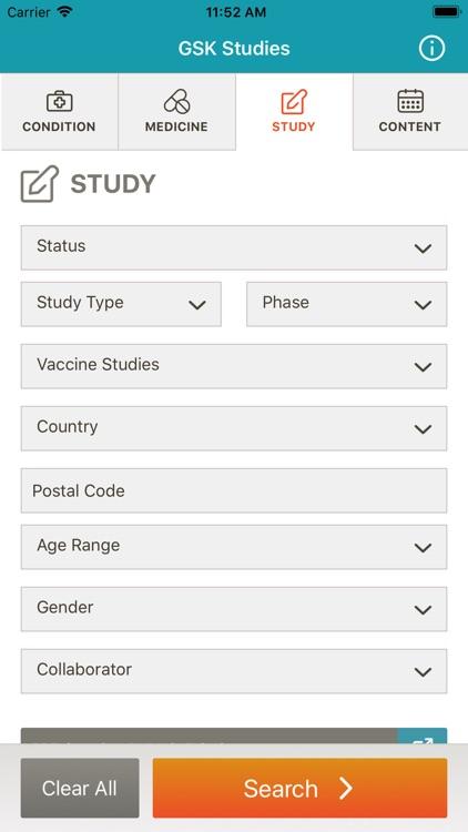GSK Studies