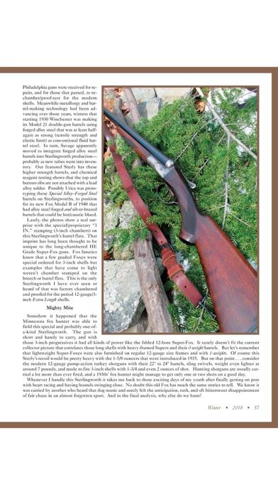 Screenshot for Double Gun Single Shot Journal in United States App Store