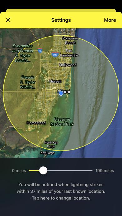 My Lightning Tracker & Alerts Screenshot