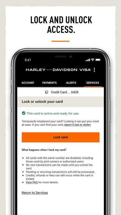 Harley-Davidson® Visa Card screenshot-5