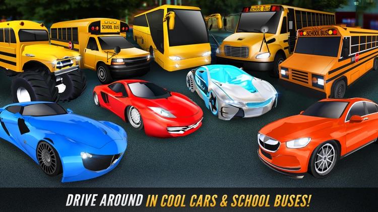 School Bus Simulator Game 3D screenshot-3
