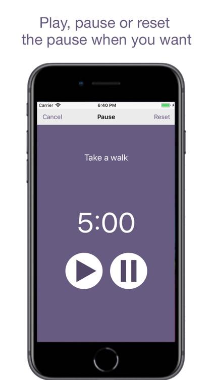Pause - A Simple Reminder App screenshot-5