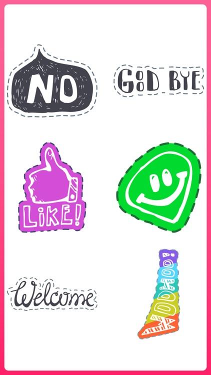 send Text Doodles & eat Noodle