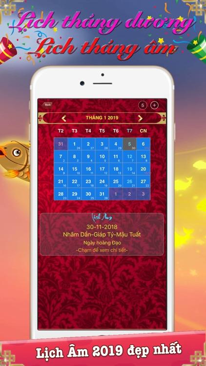 Lịch Vạn Niên 2019 & Lịch Âm screenshot-3