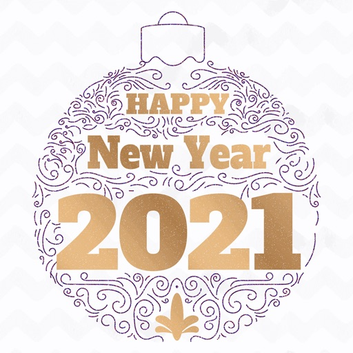 Happy New Year 2021 - Animated