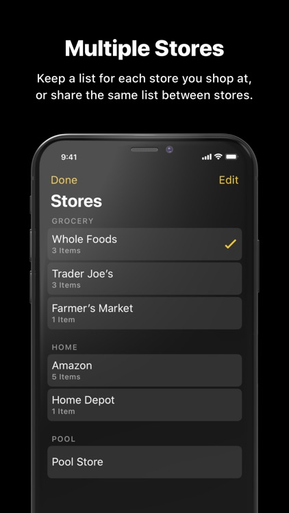 Grocery - Smart Shopping List