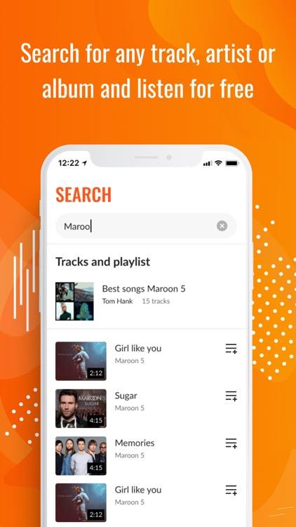 Upbeat: Music Streaming Player