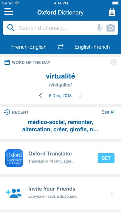 Conc. Oxford French Dictionaryのおすすめ画像3