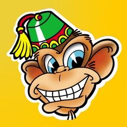 Lucky Monkey Tattoo