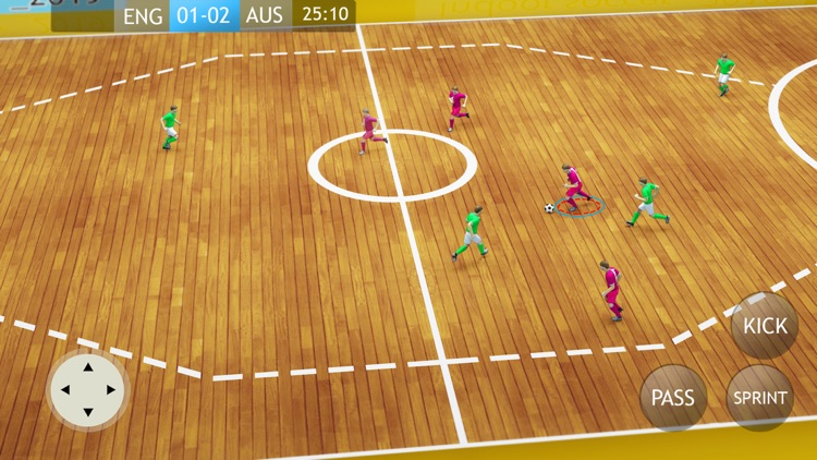 Indoor Soccer 19: Futsal Cup screenshot-1