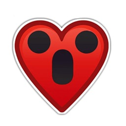 Heart stickers Emojis for text