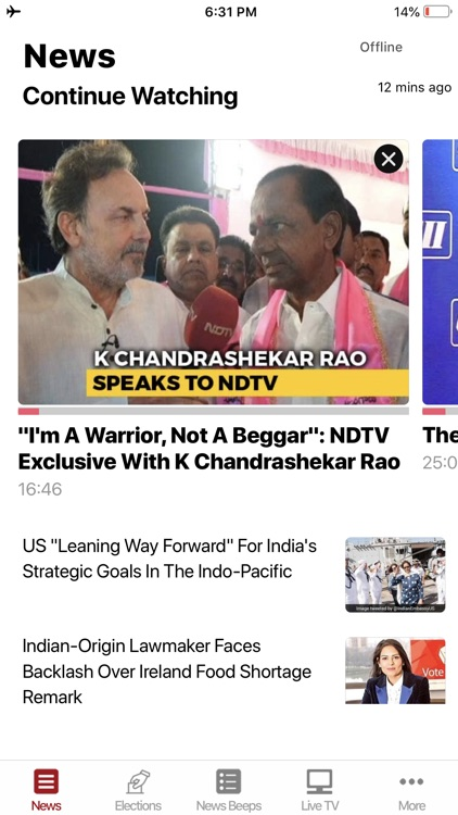 NDTV screenshot-0