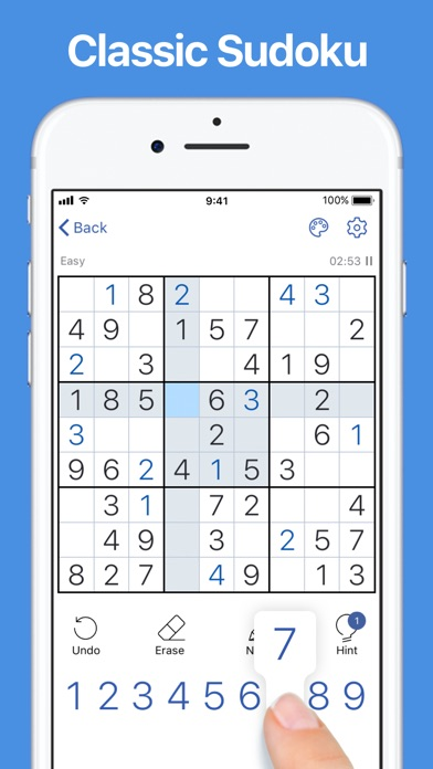 download Sudoku.com - Classic Puzzle indir ücretsiz - windows 8 , 7 veya 10 and Mac Download now
