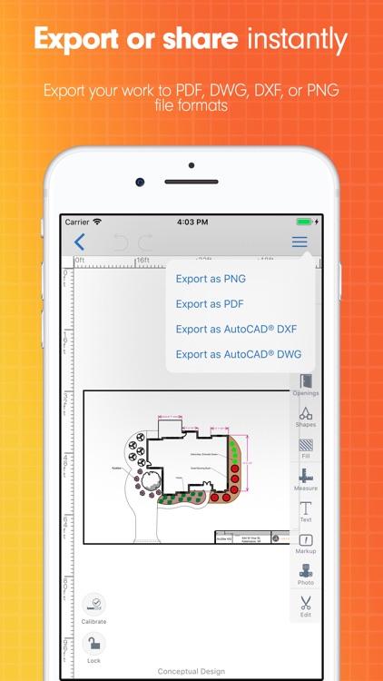 ArcSite:CAD Drawing & Drafting screenshot-3