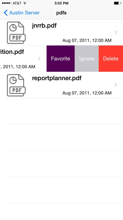 FTPFileSync for iPhone screenshot-3