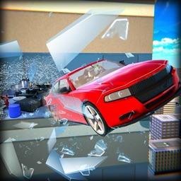 Real Smash Car Hit Edge Stunts