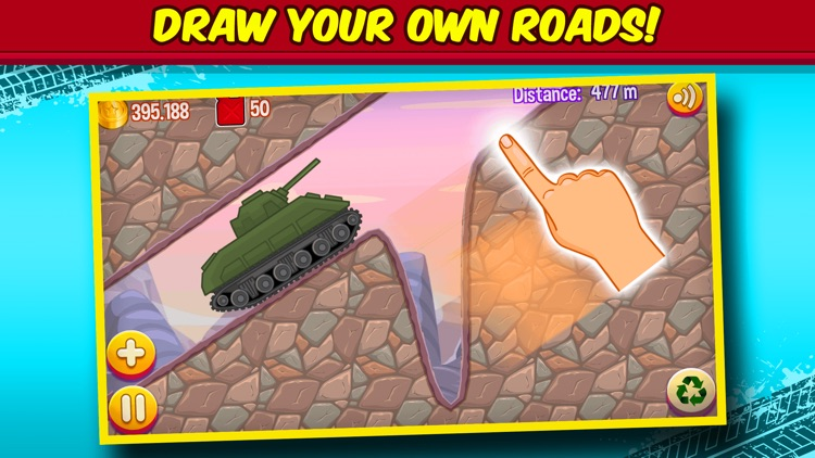 Road Draw: Climb Your Own Hill