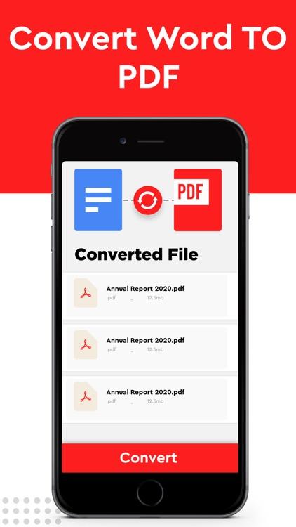 PDF Converter to JPEG & Word screenshot-5
