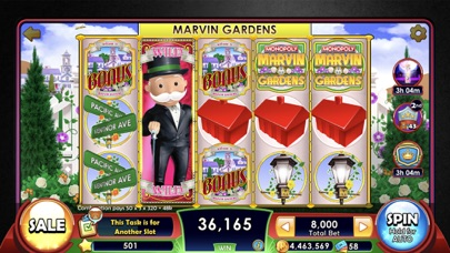 MONOPOLY Slots – カジノゲームのスクリーンショット4