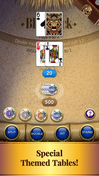 Blackjack – Casino Card Game screenshot one