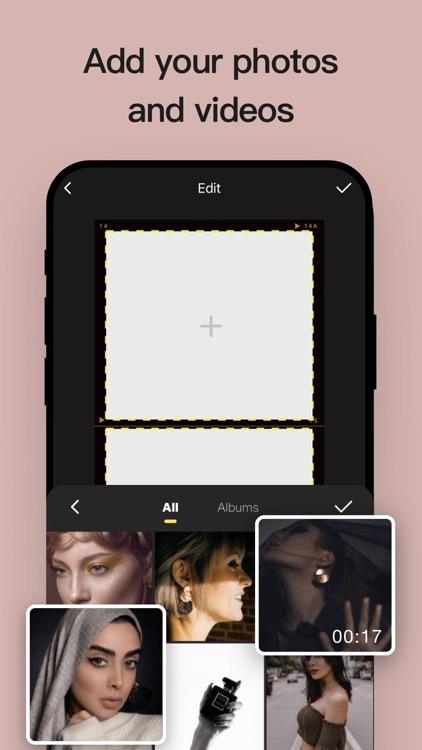 Insta Story Editor & Collage screenshot-3