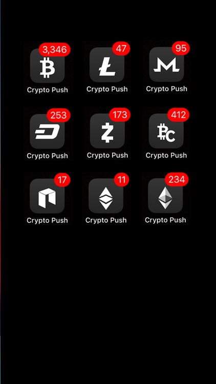 Crypto Push - Price Tracker screenshot-1