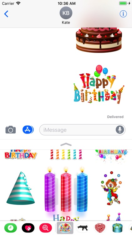 Happy Birthday Stickers Pro