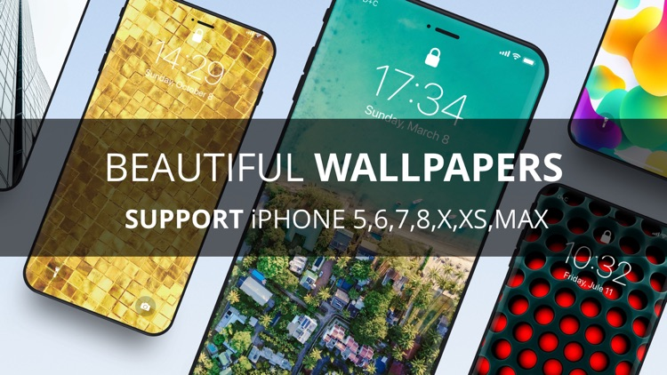 Wallpapers for iPhone X XS Max screenshot-3