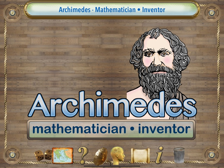 Great Thinkers: Archimedes
