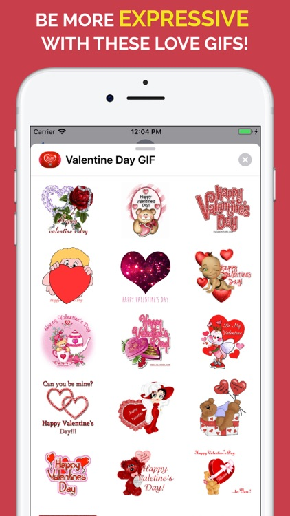 Happy Valentine's Day GIF screenshot-0
