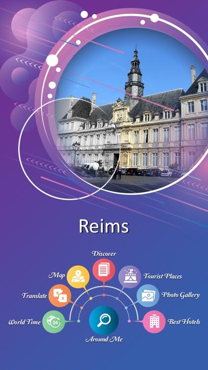 Reims Tourist Guide by AHEMAD BUKHARI FATRUMIYA