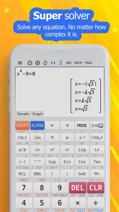 NCalc Taschenrechner PlusScreenshot von 7
