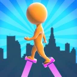 Heels Runner 3D : High Stack!