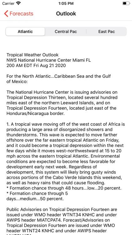 My Hurricane Tracker Pro screenshot-4