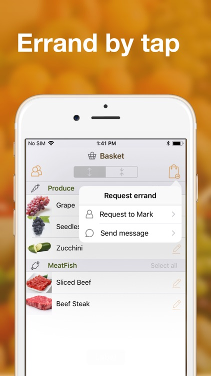 Easy grocery shopping list app screenshot-5