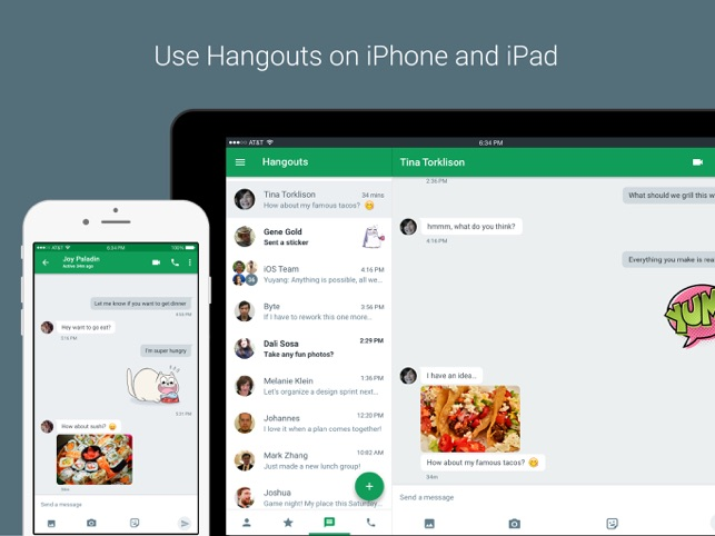 ‎Hangouts Screenshot