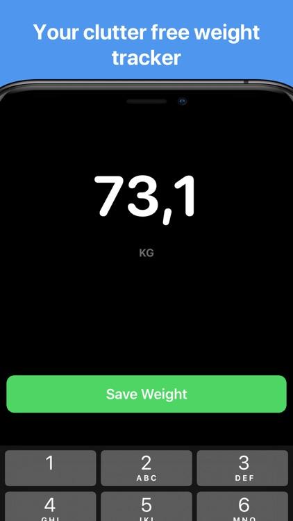 Vekt - Weight Tracking