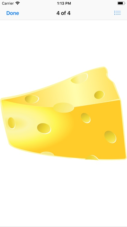 Tasty Cheese Stickers screenshot-4