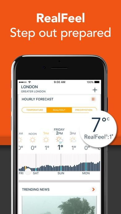 Weather Forecast: AccuWeather screenshot three