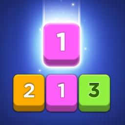 Merge Number Puzzle.
