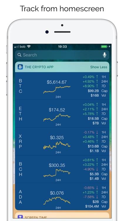 Crypto App - Widgets, Alerts screenshot-3
