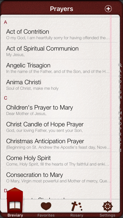 Breviary: Catholic PrayersScreenshot of 2