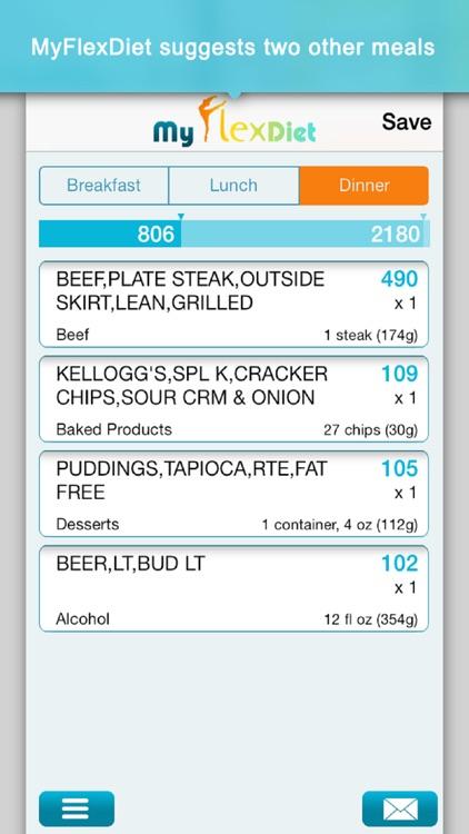 Diet Plan & Food Tracker screenshot-3