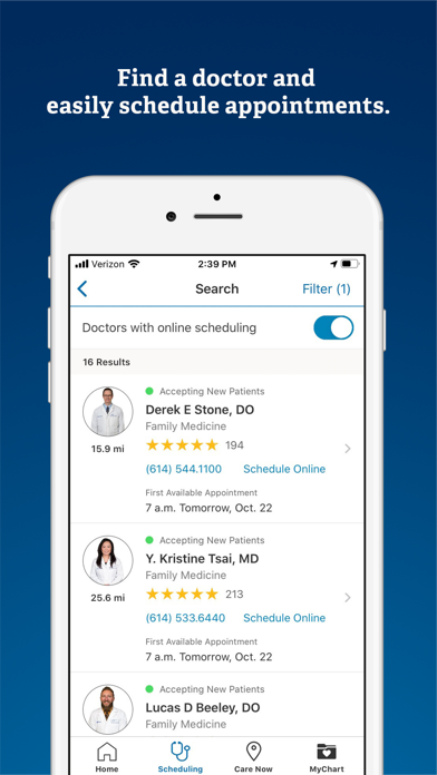 messages.download OhioHealth software