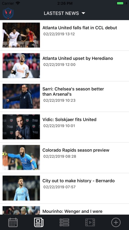 Football Scores & News screenshot-1