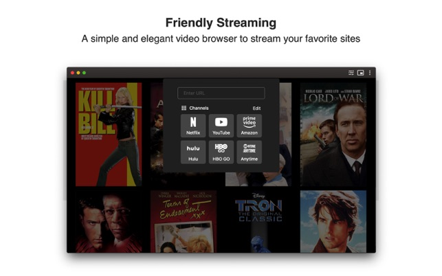 Friendly Streaming on the Mac App Store