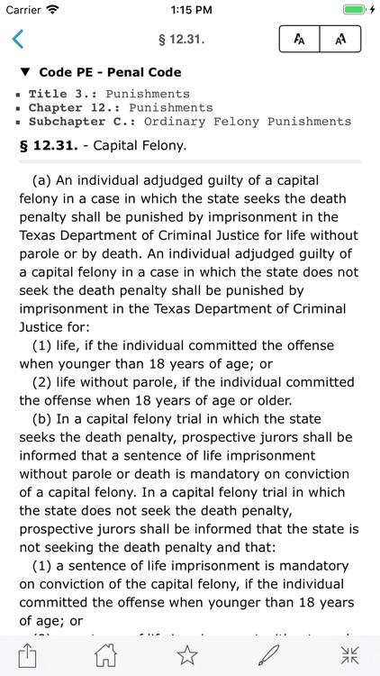 CA Penal Code (California) screenshot-6