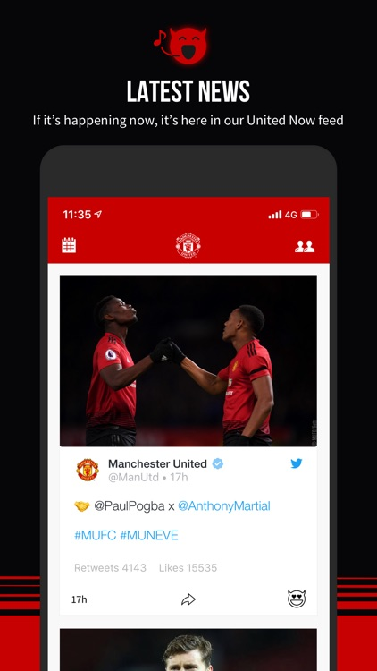 Manchester United Official App screenshot-1