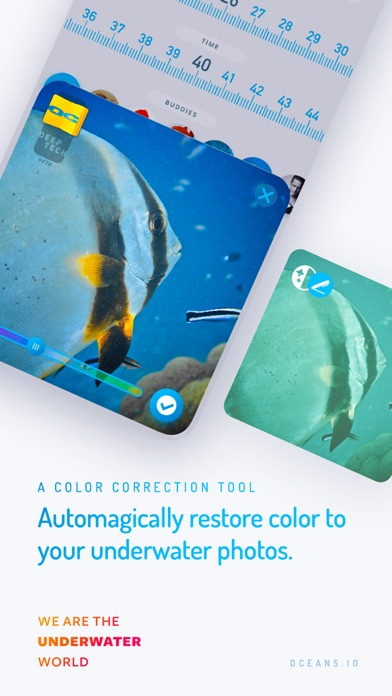 Oceans - the social logbook for scuba divers screenshot