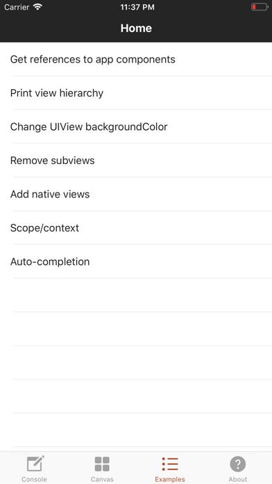 Nside review screenshots